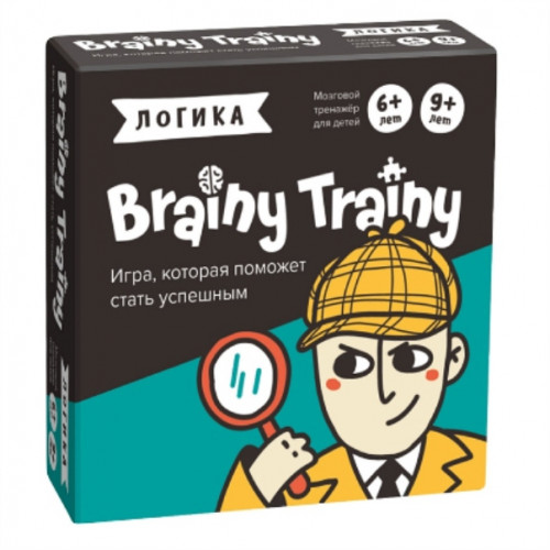 Игра-головоломка BRAINY TRAINY Логика 6+ УМ266