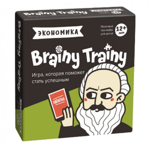 Игра-головоломка BRAINY TRAINY Экономика 12+ УМ267