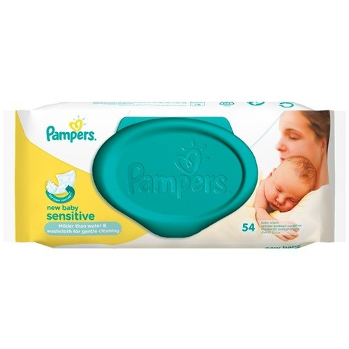PAMPERS Салфетки New Baby Sensitive 54 шт