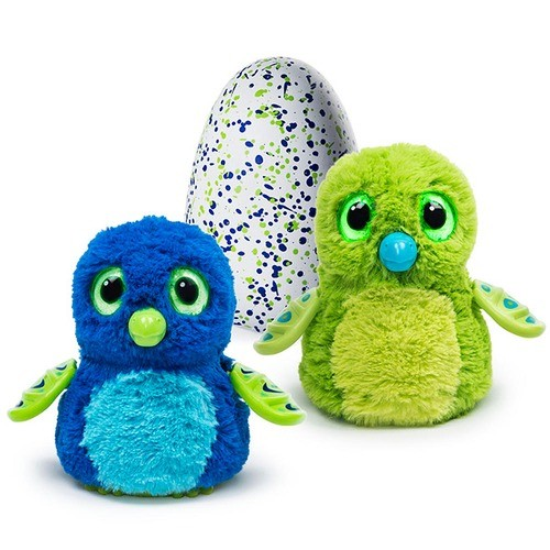 Игрушка для девочки Hatchimals-дракоша- интерактивный питомей, вылупляющийся из яйца 19100-Drag-Gree
