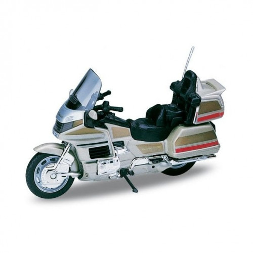 Модель мотоцикла 1:18 Honda Gold Wing 12148Р